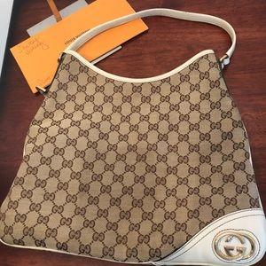 Authentic Gucci Britt Should Bag/Tote